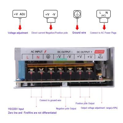 AC 110V 220V to DC 12V Switch 200