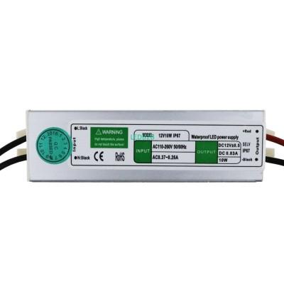 LED Driver DC12V 10W 0.8A IP67 Wa