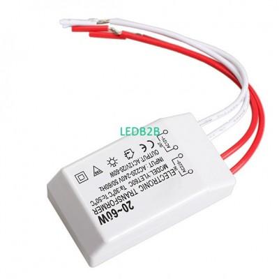 New 20-60W 12V Halogen LED Lamp E