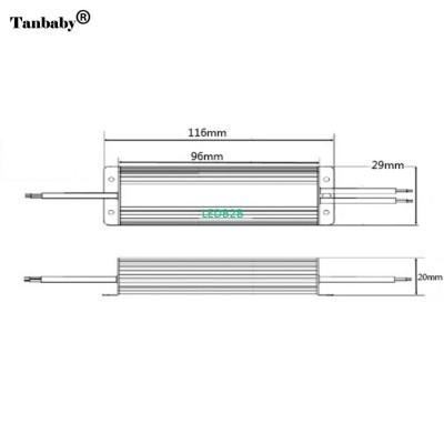 Tanbaby DC12V 10W IP67Waterproof