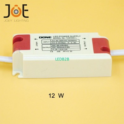 LED 12W power supply Constant Cur