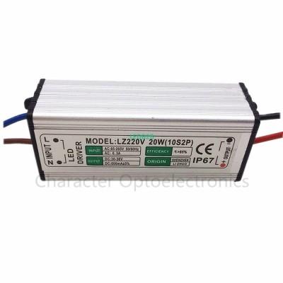 5pcs LED Driver 600mA 20W AC85V-2