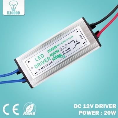 20W Input DC12V Current 570-600mA