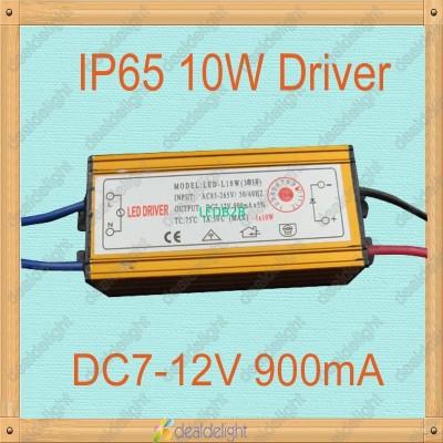 10W IP65 Waterproof Constant Curr