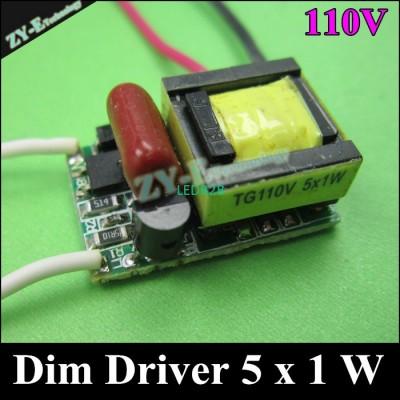 10 pcs/lot ,5 W Dimming driver,LE