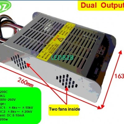 High voltage power supply with 20
