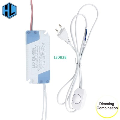 1Set 220V Dimmable LED Power Supp