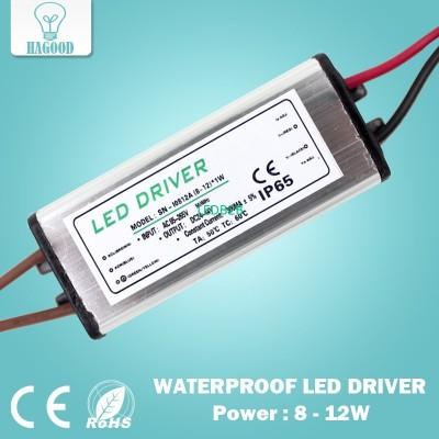 Waterproof 8-12W LED Driver Power