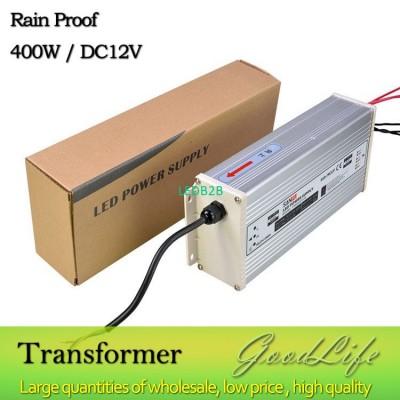 DC 12V 400W Rain Proof  LED Power