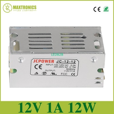 Best quality 12V 1A 12W Switching