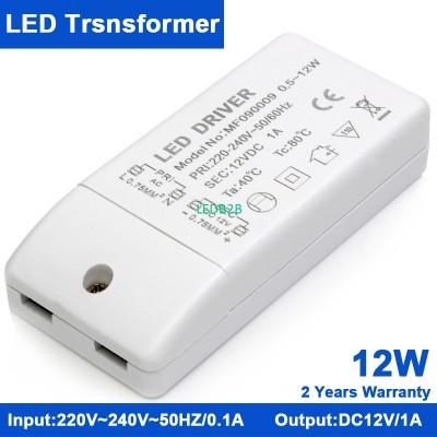 KINDOMLED 10pcs 12W 12V DC 1A LED