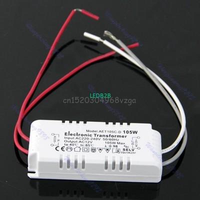 AC 12V 105W Halogen Driver Light