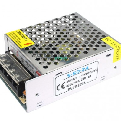 Power Supply 24V 2A 48W LED Strip