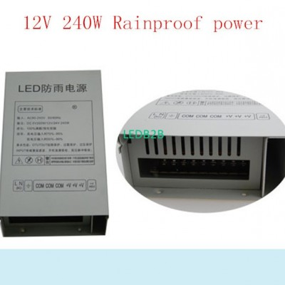 best price 12V 20A Rainproof swit