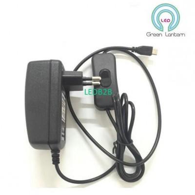 Factory Micro USB 5V 3A power ada