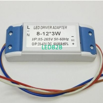 10 pieces 8-12x3 W Waterproof LED