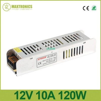 New 12V 10A 120W Slim Power Suppl