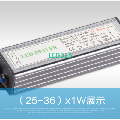 ( 18-25 ) X 1W 36W IP66 Waterproo