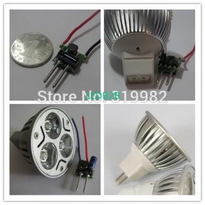 5 PCS MR16 12V LED Driver 1-3X1W