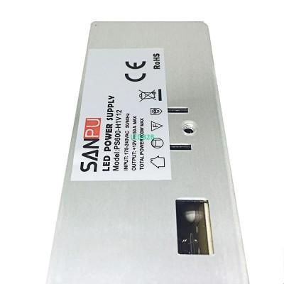 LED Driver 12V 50A 600W 175V-240V