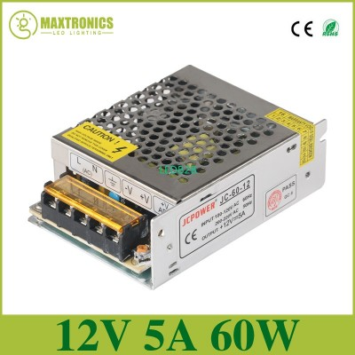 12V 5A 60W Universal Regulated Sw