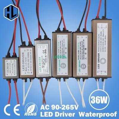 Waterproof 1W-36W LED Driver LED