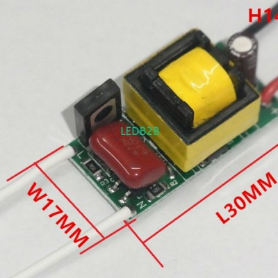 6W 7W Dimable LED Driver Adapter