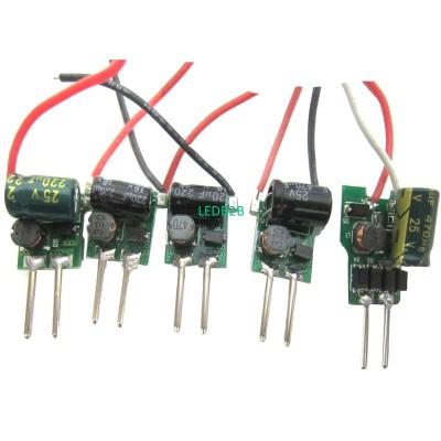 5pcs MR16 2pin DC 12V LED Driver