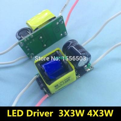 2 Pcs/Lot 3-4X3W LED Driver lamp
