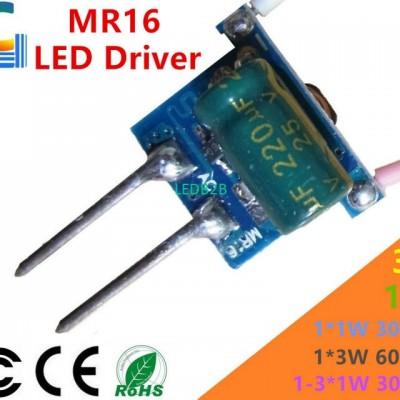 1PCS 1W 2W 3W Spotlight Driver Po