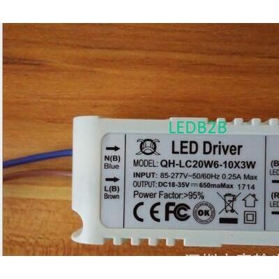 10 pcs/lot 6-10x3W LED Drive