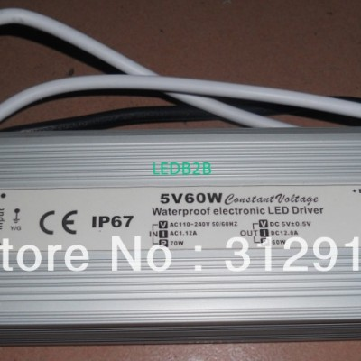 5/60w switch mode IP68 LED power