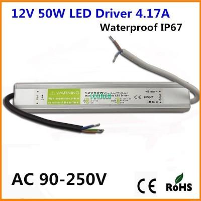 DC 12V 50W IP67 Waterproof LED Ad