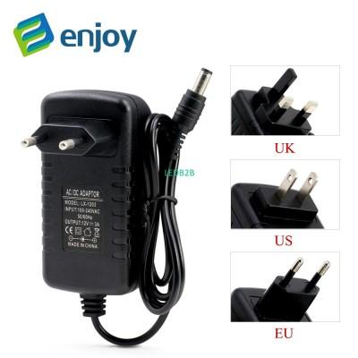EU US UK plug 12V 2A 3A lighting