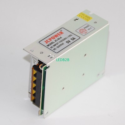 LED Driver 5V 5A 25W Switching Po