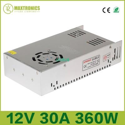 2017 wholesale 12V 30A 360W led R