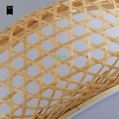 Bamboo Wicker Rattan Lantern Shad
