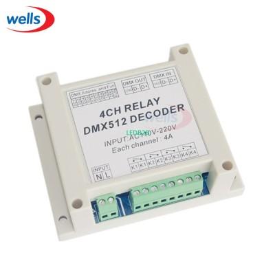DMX-RELAY-4CH dmx512,relays decod