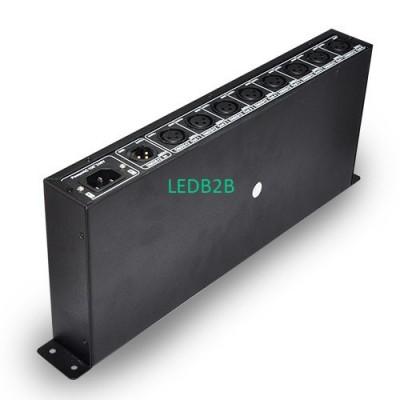DMX128 AC100-240V 7W DMX amplifie