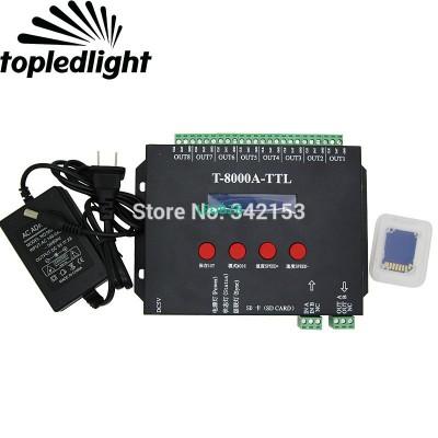 T-8000A-TTL T-8000A SD Card LED P