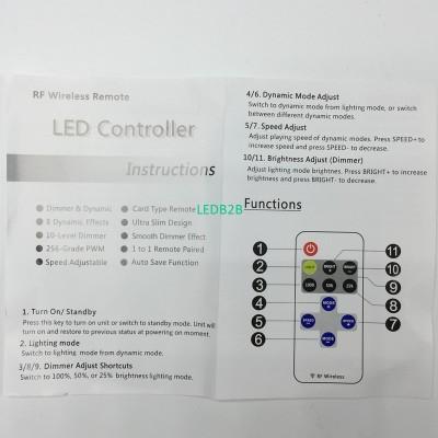 Wholesale Mini RF Wireless Led Re