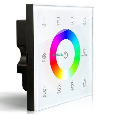 DX8 rgbw touch panel led controll