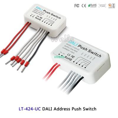 LTECH led DALI Address Push Switc