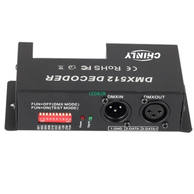 3 Channel 30A RGB DMX 512 LED Dec