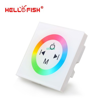 White Glass Touch Panel RGB Full