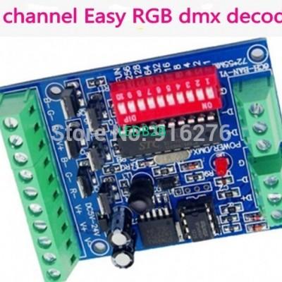 6 channel Easy DMX Decoder contro
