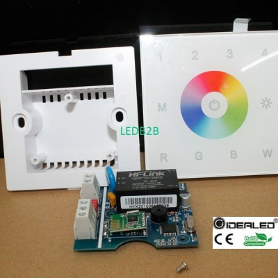 DIY home use 4-zone  touch panel