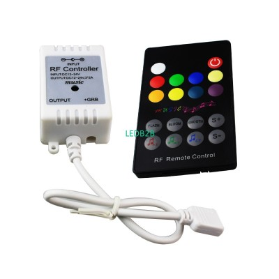 6pcs/pack 18Key led rgb ir remote