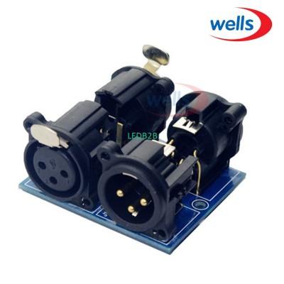 DMX512 XLR5 connector to XLR3 ,XL