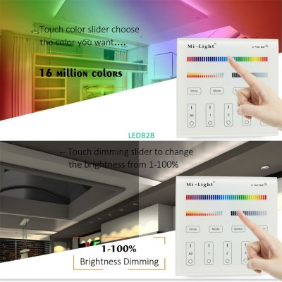 Milight Battery Touch Panel Wall-